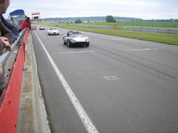 Slipstreaming down the straight